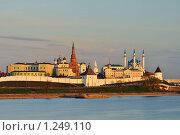 Купить «Казанский кремль в закатном свете», фото № 1249110, снято 9 мая 2009 г. (c) Денис Ларкин / Фотобанк Лори