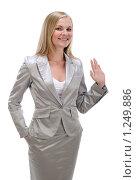 Купить «Портрет деловой женщины», фото № 1249886, снято 2 августа 2008 г. (c) Михаил Малышев / Фотобанк Лори