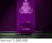 Купить «Кресло в интерьере», иллюстрация № 1260330 (c) Данила Большаков / Фотобанк Лори