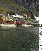 Рыбацкая деревня. Норвегия. (2009 год). Стоковое фото, фотограф Зоя Степанова / Фотобанк Лори