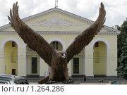 Купить «Скульптура орла в городе Орел», фото № 1264286, снято 19 августа 2009 г. (c) Удодов Алексей / Фотобанк Лори