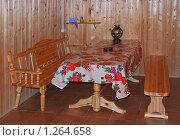 Купить «Комната отдыха в бане», эксклюзивное фото № 1264658, снято 9 апреля 2009 г. (c) Алёшина Оксана / Фотобанк Лори