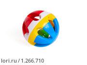 Купить «Погремушка для новорожденных», фото № 1266710, снято 25 октября 2009 г. (c) Черников Роман / Фотобанк Лори