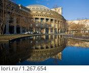 Новосибирский оперный театр (2009 год). Стоковое фото, фотограф Александр Жильцов / Фотобанк Лори