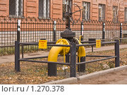 Газовый кран. Стоковое фото, фотограф Александр Подобедов / Фотобанк Лори