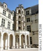 Фрагмент замка Шамбор. Долина реки Луара. Франция. (2009 год). Редакционное фото, фотограф Дживита / Фотобанк Лори