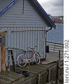Старый велосипед. Норвегия (2009 год). Стоковое фото, фотограф Зоя Степанова / Фотобанк Лори