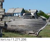 Старые рыбацкие лодки. Стоковое фото, фотограф Вячеслав Костылев / Фотобанк Лори