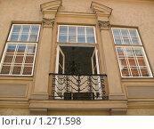 Балкончик в Старой Риге (2007 год). Стоковое фото, фотограф Елена Носик / Фотобанк Лори