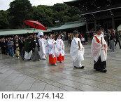 Японская свадьба (2009 год). Редакционное фото, фотограф Павел Сидоренко / Фотобанк Лори