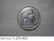 Купить «Монета в пять латов (оборотная сторона)», фото № 1275462, снято 24 мая 2009 г. (c) Пудов Павел / Фотобанк Лори