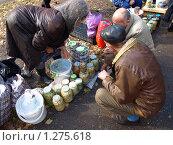 Купить «Рынок», фото № 1275618, снято 10 октября 2009 г. (c) Сергей Зубов / Фотобанк Лори