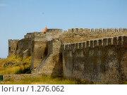Купить «Крепостная стена», фото № 1276062, снято 8 июля 2008 г. (c) Сергей Разживин / Фотобанк Лори