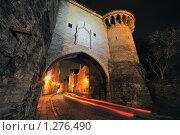 Ворота в старый Таллин (2009 год). Стоковое фото, фотограф Андрей Григорьев / Фотобанк Лори