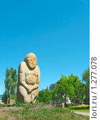 Купить «Каменный воин», фото № 1277078, снято 9 июня 2008 г. (c) Одиссей / Фотобанк Лори