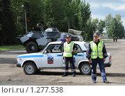 Купить «Дорога перекрыта», эксклюзивное фото № 1277538, снято 12 августа 2009 г. (c) Free Wind / Фотобанк Лори