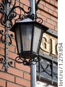 Уличный фонарь. Стоковое фото, фотограф Иван Веселов / Фотобанк Лори