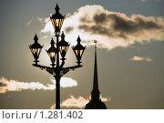 В каждом фонаре солнце (2009 год). Стоковое фото, фотограф Александр Щепин / Фотобанк Лори