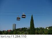 Канатная дорога. Сочи, дендрарий. Стоковое фото, фотограф Андрей Дегтярев / Фотобанк Лори
