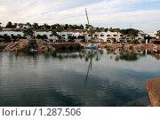 Солёное озеро на территории отеля Domina Coral Bay King's Lake (2009 год). Редакционное фото, фотограф Павел Красихин / Фотобанк Лори