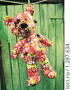 Купить «Медведь сушится», фото № 1287634, снято 10 июля 2008 г. (c) Кирюшина Евгения / Фотобанк Лори