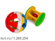 Купить «Погремушки для новорожденных», фото № 1289254, снято 19 ноября 2009 г. (c) Черников Роман / Фотобанк Лори