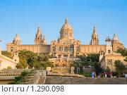 Купить «Национальный музей Каталонии, Испания . Барселона», фото № 1290098, снято 27 августа 2008 г. (c) Vitas / Фотобанк Лори