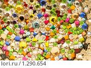 Купить «Много бисера крупным планом», фото № 1290654, снято 15 октября 2008 г. (c) Elnur / Фотобанк Лори