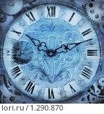 Купить «Старинные часы, новогодние», фото № 1290870, снято 19 августа 2018 г. (c) Triff / Фотобанк Лори