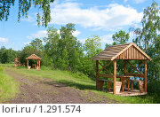 Купить «Организованное место отдыха», фото № 1291574, снято 19 июня 2009 г. (c) Ирина Солошенко / Фотобанк Лори