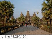 Храмовый комплекс Ангкор. Храм Ангкор-Ват. Камбоджа. Стоковое фото, фотограф Daria / Фотобанк Лори