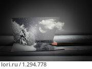 Новогодняя открытка. Стоковая иллюстрация, иллюстратор Кочкаева Светлана Сергеевна / Фотобанк Лори