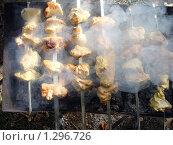 Куриный шашлык. Стоковое фото, фотограф Венюков Вячеслав / Фотобанк Лори