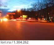 Ночной город (2009 год). Стоковое фото, фотограф Дульнев Михаил / Фотобанк Лори