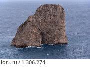 Купить «Утес. Острова Капри», фото № 1306274, снято 4 октября 2008 г. (c) Андрей Емельяненко / Фотобанк Лори