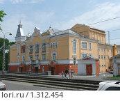 Барнаул. Государственная филармония Алтая (2008 год). Стоковое фото, фотограф Вячеслав Чернов / Фотобанк Лори