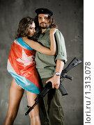Купить «Che. Cuba Libre», фото № 1313078, снято 4 августа 2009 г. (c) Дмитрий Иванов / Фотобанк Лори