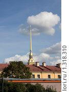 Петропавловская крепость (Санкт-Петербург) (2009 год). Стоковое фото, фотограф Алексей Артамонов / Фотобанк Лори