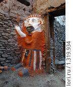 Терракотовый мужчина-идол (2008 год). Стоковое фото, фотограф Павлов Борис / Фотобанк Лори