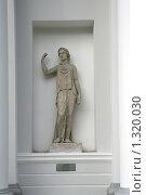 Купить «Античная скульптура Психеи», фото № 1320030, снято 29 октября 2009 г. (c) Александр Секретарев / Фотобанк Лори