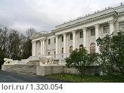 Купить «Елагин дворец», фото № 1320054, снято 29 октября 2009 г. (c) Александр Секретарев / Фотобанк Лори
