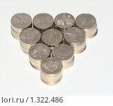 Купить «Юбилейные 50 тенговые монеты Казахстана», фото № 1322486, снято 17 декабря 2009 г. (c) Михаил Николаев / Фотобанк Лори
