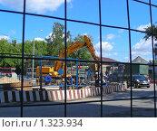 Купить «Стройплощадка», эксклюзивное фото № 1323934, снято 7 июля 2008 г. (c) lana1501 / Фотобанк Лори