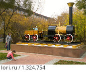 Купить «Паровозик», фото № 1324754, снято 3 октября 2009 г. (c) Andrey M / Фотобанк Лори