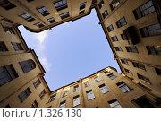 Купить «Двор-колодец. Санкт-Петербург», эксклюзивное фото № 1326130, снято 31 января 2009 г. (c) Александр Алексеев / Фотобанк Лори