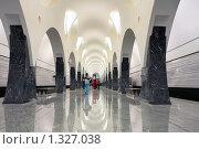 """Купить «Станция метро """"Волоколамская"""", Москва», фото № 1327038, снято 27 декабря 2009 г. (c) Fro / Фотобанк Лори"""