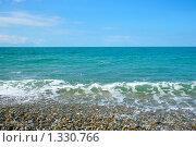 Купить «Морской пейзаж», фото № 1330766, снято 13 июня 2007 г. (c) Андрей Бурдюков / Фотобанк Лори