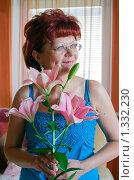 Купить «Портрет зрелой женщины», фото № 1332230, снято 22 августа 2009 г. (c) Анна Лурье / Фотобанк Лори
