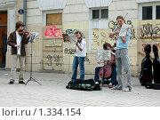 Уличный квартет (2008 год). Редакционное фото, фотограф Михаил Тимонин / Фотобанк Лори