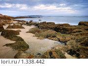 Купить «Галисия, Испания: закат над океанским побережьем», фото № 1338442, снято 16 октября 2019 г. (c) Дмитрий Яковлев / Фотобанк Лори